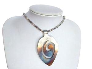 Halskette für Damen Collier 925 Silber 14k gold RINI Edelstahl Anhänger