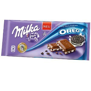 Milka Oreo Alpine Milk Chocolate Bar-Pack of 3