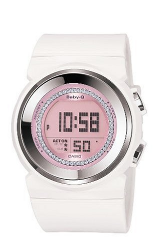 Casio BGD-102-7ER BABY-G ladies digital resin strap watch