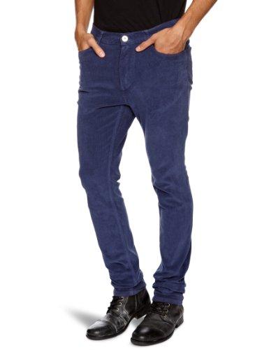 Benson FL12-WP05C Boot Cut Men's Trousers Navy W34 IN