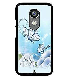 printtech Butterfly Pearls Back Case Cover for Motorola Moto X2 , Motorola Moto X (2nd Gen)