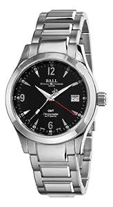 Ball Men's GM1032C-S2CJ-BK Engineer II Ohio Black GMT Dial Watch