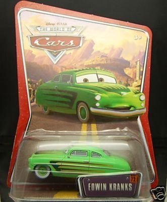 Edwin Kranks Disney Pixar World Of Cars Edition K-Mart Exclusive 1:55 Scale Mattel Toys