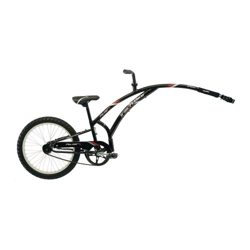 Adams Folder 1 Trail-A-Bike - Black front-98541