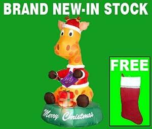 Amazon.com : Blow Up Christmas Yard Decorations - Airblown ...