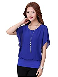 H K Sales Women's Top (CSOS-102038_Blue_Large)