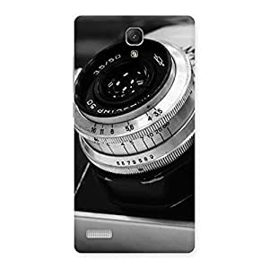 Premium BW Camera Up Back Case Cover for Redmi Note 4