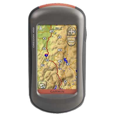 Garmin Oregon 450 + GB 1:50K SD Map Card