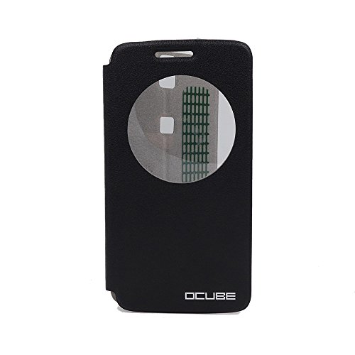 OCUBE PU Leather Case for Elephone P8000 Flip Cover Stand Function (black)