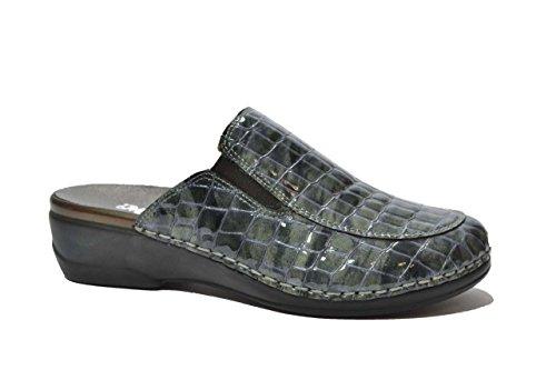 Melluso Ciabatte grafite PLANTARE ESTRAIBILE scarpe donna 02945C GRIGIO 35