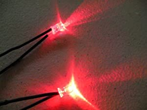 Red Led Eyes For Mask, Skulls and Halloween Props from Dead Head Props