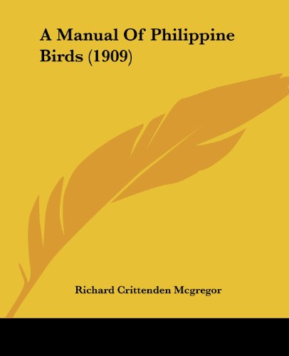 A Manual of Philippine Birds (1909)