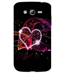 printtech Heart Love Abstract Back Case Cover for Samsung Galaxy Grand Neo Plus / Samsung Galaxy Grand Neo Plus i9060i