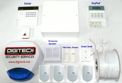 AK0  WIRED BURGLAR ALARM SYSTEM WITH DIALER/P...