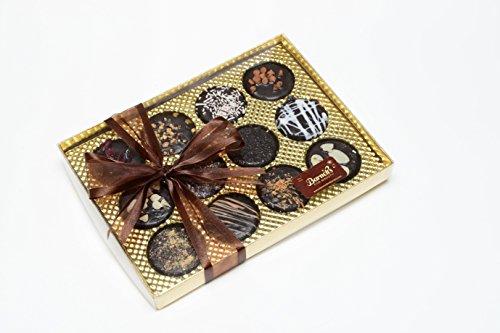 Elegant Chocolate Covered Sandwich Cookies Giftbox