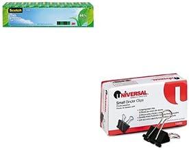 KITMMM81212PUNV10200 - Value Kit - Scotch Magic Greener Tape MMM81212P and Universal Small Binder Cl