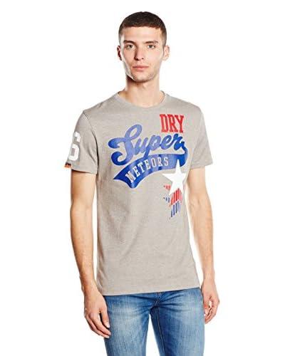 Superdry T-Shirt Manica Corta Meteors Athletic-Stars Tee [Grigio]