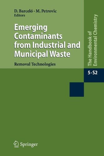 Emerging Contaminants from Industrial and Municipal Waste: Removal technologies (The Handbook of Environmental Chemistry