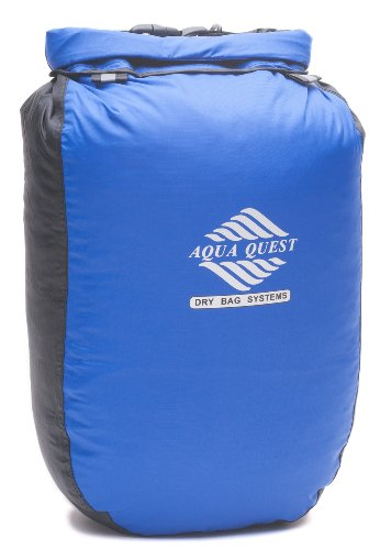 Aqua-Quest 'Glacier' Waterproof Dry Bag Sack - 5L / 300 Cu. In. - Blue Model