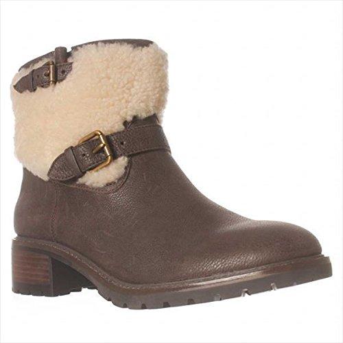 Coach Gabriella Ankle Boot, Chestnut/natural, 7 M US