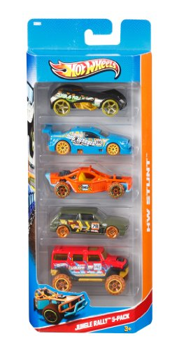 5 Vehicle Pack (pack May Vary) 1806 5 Pack By Hot Wheels