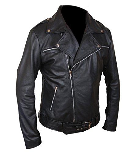 F&H Men's The Walking Dead Negan Jacket 5XL Black