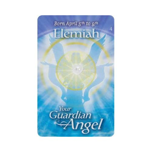 Amazon.com - Guardian Angels Wallet Card English Elemiah (each