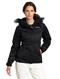 Columbia Women\'s Lay \'D\' Down Jacket, Black, X-Large