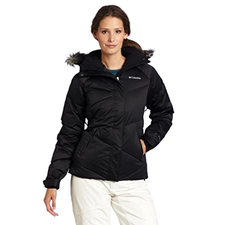 The combination of Omni-Shield advanced repellency, Omni-Heat thermal reflective and 550 fill power down insulation make this jacket super toasty to keep you warm in cold weather; feminine design lines and buttery soft sateen fabric mean it's also pe...