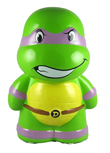 Teenage Mutant Ninja Turtles Donatello Ceramic Piggy Bank, Donny Coin Bank, Tmnt Donnie Coin Deposit