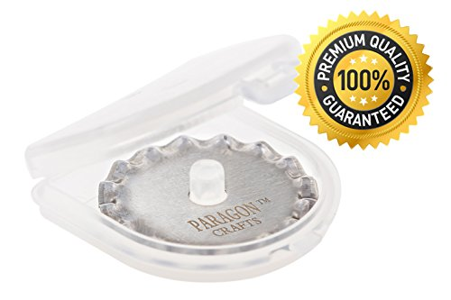 Paragon Crafts Premium Rotary Cutter Blades for Decorative and