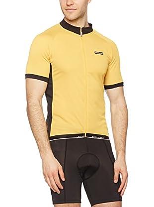 Nalini Maillot Ciclismo Bisque (Amarillo / Negro)