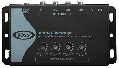 BOSS AUDIO BVAM5  Video Signal Amplifier 4 RCA Outputs