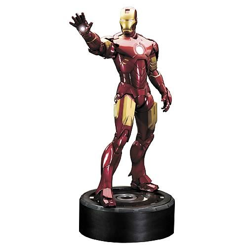 Picture of Diamond Comics Kotobukiya Iron Man 2: Mark IV ArtFX Statue Figure (B0031M98PM) (Iron Man Action Figures)