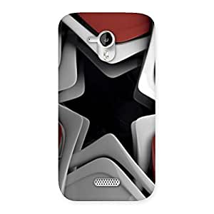 Stylish Techisa Multicolor Back Case Cover for Micromax Canvas HD A116