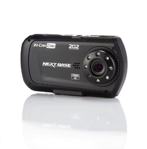 """Nextbase - In Car Cam 202, Fotocamera professionale resistente agli urti, HD, HDMI, AV, USB, ingresso schede SD, schermo LCD da 2,7"""""""
