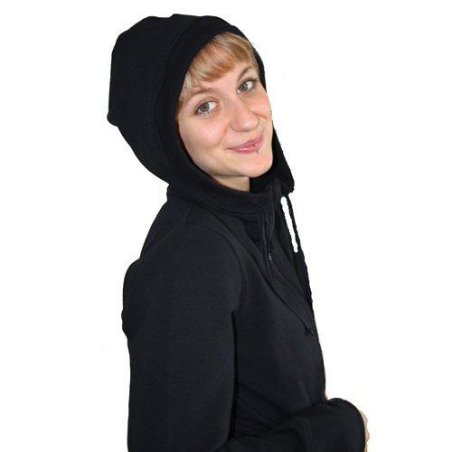 Leela Cotton Damen Kapuzenjacke ideal für Freizeit, Yoga und Sport aus Bio Baumwolle jetzt bestellen