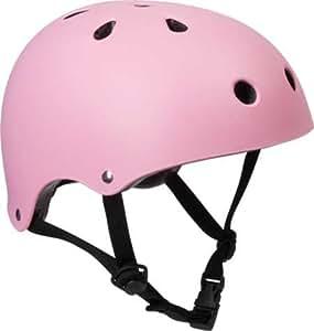 SFR Essentials Casque rose du Skate/BMX/Trotinette XXS-XS