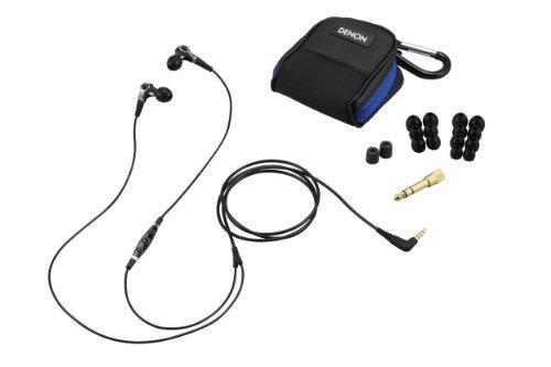 Denon AH-C400 In-Ear Headphones with Microphone