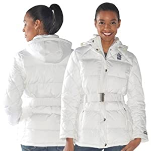 MLB Officially Licensed St. Louis Cardinals Ladies Icing Full Zip Quilted Jacket -... by G-III Sports