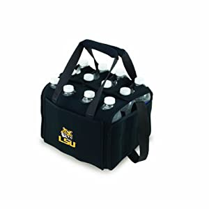 Picnic%20Time NCAA LSU Fightin Tigers Beverage Buddy Insulated 12-Pack Drink Tote