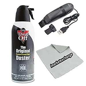 air computer tv gas compressed cans duster 10 oz dust off for laptop keyboard usb. Black Bedroom Furniture Sets. Home Design Ideas