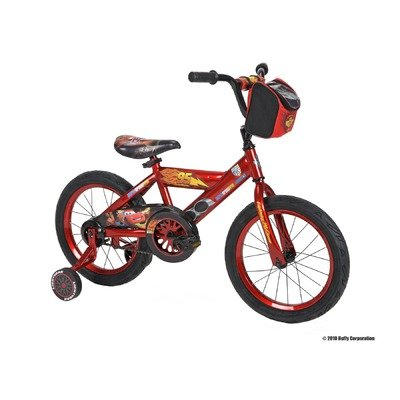 Huffy Disney Cars Bike with Training Wheels (16-inch)