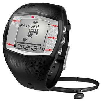 Cheap POLAR FT40F Woman's Black Heart Rate Monitor (XXXL) (B0036QM5MG)