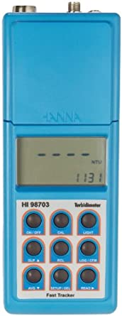 Hanna Instruments HI 98703 Portable Turbidity Meter, with Fast Tracker Technology, EPA Compliant