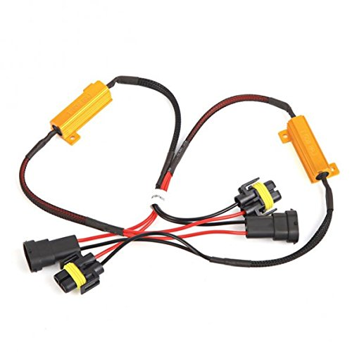 Afterpartz 2X 50W 8Ohm H11 Canbus No Error Car Led Light Warning Cancelling Load Resistors