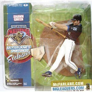 "Shawn Green - Black Jersey - Big League Challenge - Exclusive - McFarlane Sports Picks 6"" figure - 1"