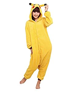 Simon Halloween Costume Xmas Gift Pikachu Kigurumi Pajamas Anime Cosplay Pyjamas Cartoon Sleepwear Onesie
