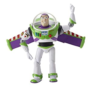 "Toy Story Deluxe Space Ranger Buzz Lightyear 6"" Figure"