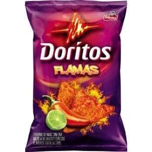 Amazon.com: Doritos Flamas Flavored Tortilla Chips, 11.5oz Bags (Pack